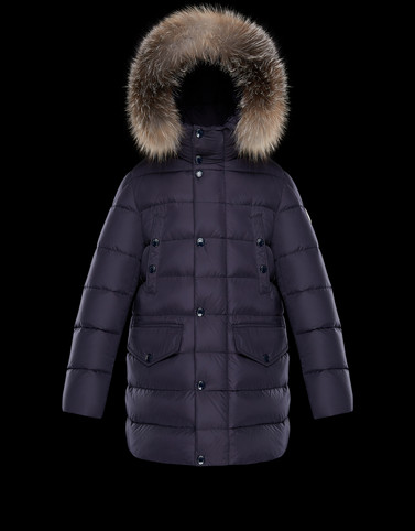 MONTLIARD Dark blue Category Parka