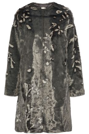 ELIE TAHARI Sammy faux fur coat