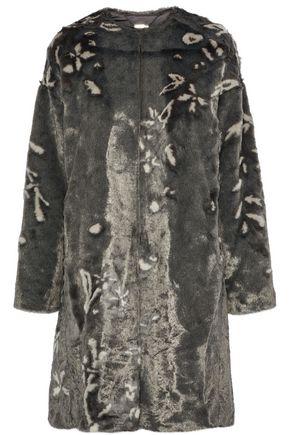 ELIE TAHARI Sammy faux fur coat