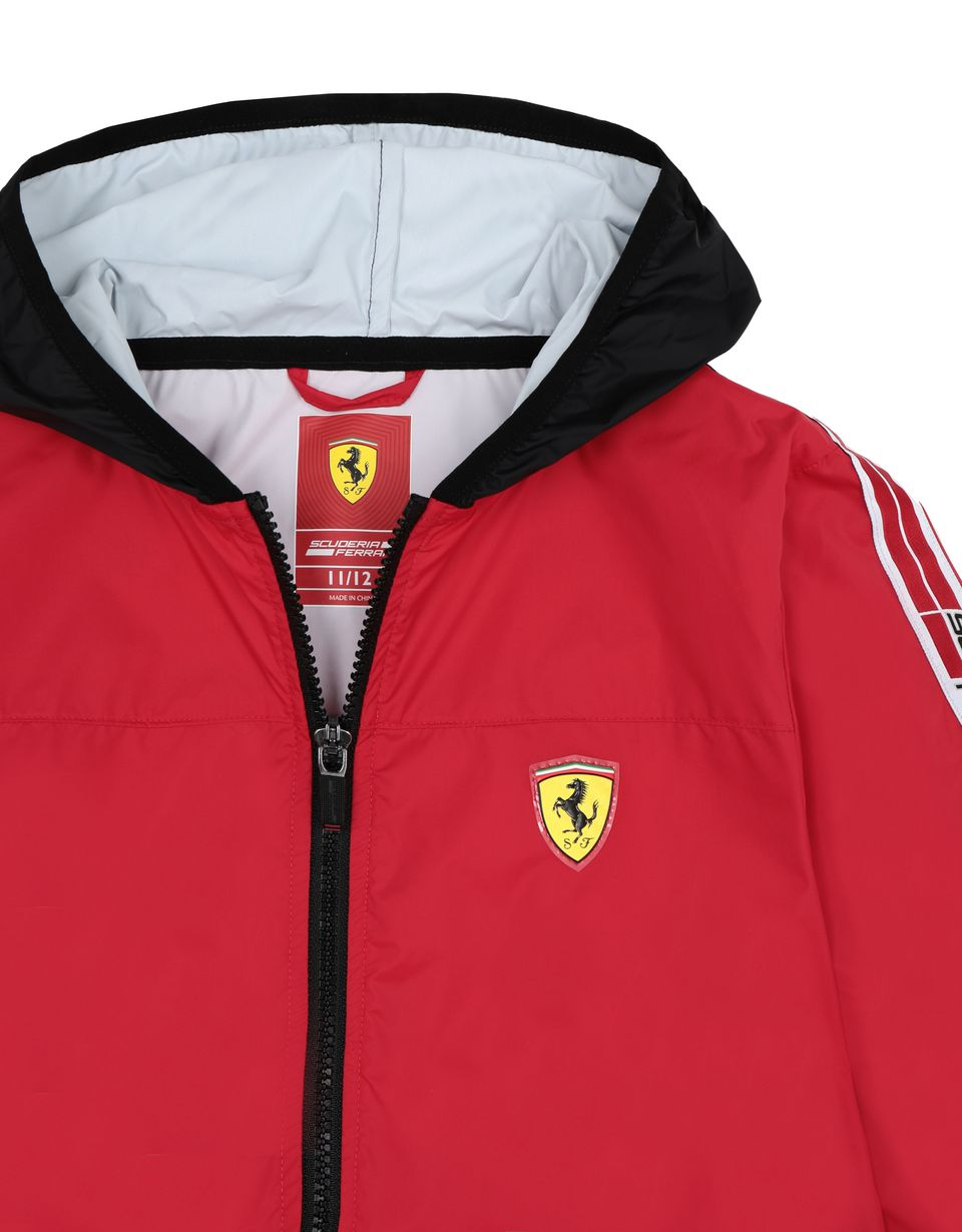 Scuderia Ferrari Online Store - Giubbotto ragazzo in nylon resistente allʹacqua - Impermeabili