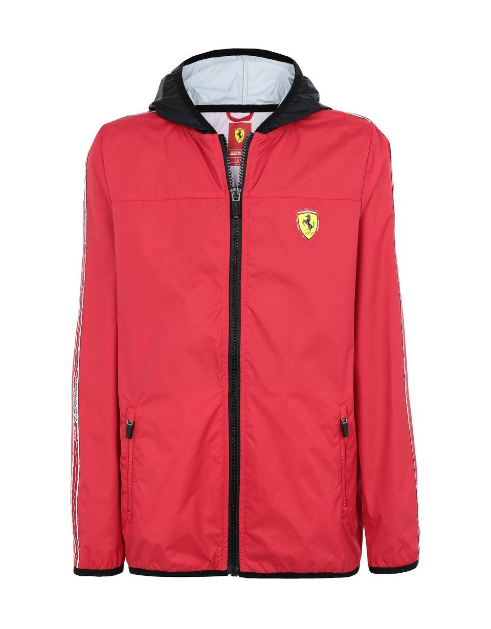Scuderia Ferrari Online Store - Wasserfeste Jugend-Jacke aus Nylon - Regenmäntel
