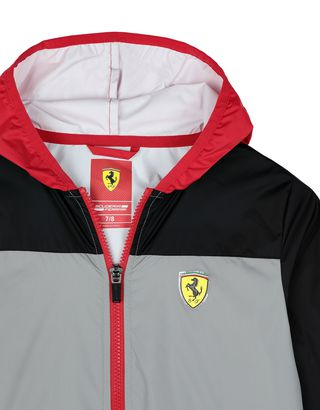 Scuderia Ferrari Online Store - Children's water-resistant nylon jacket - Raincoats