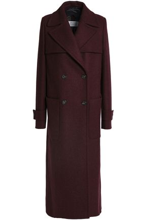 MAISON MARGIELA Double-breasted wool-blend coat