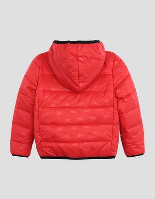 Scuderia Ferrari Online Store - Утеплённая детская нейлоновая куртка - Пуховики