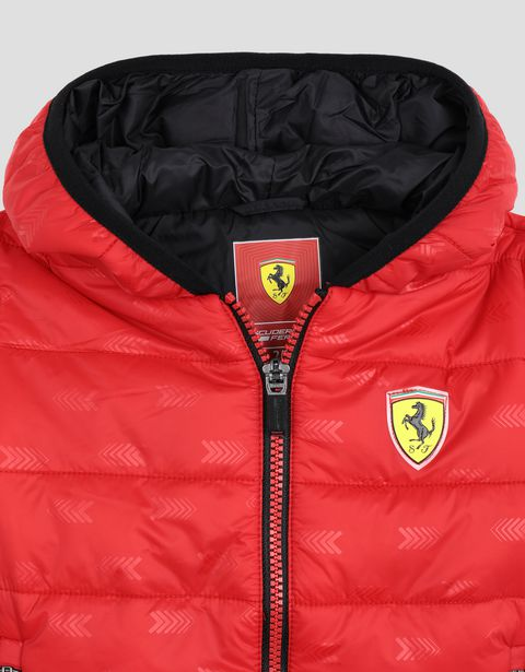 Scuderia Ferrari Online Store - Children's padded nylon jacket - Down Jackets