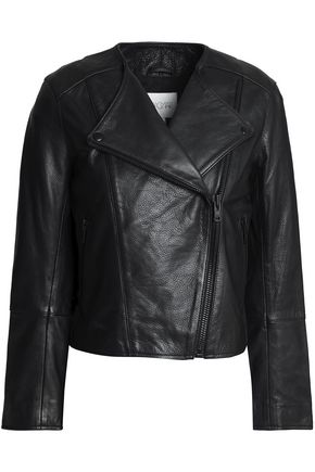 HOUSE OF DAGMAR Leather biker jacket