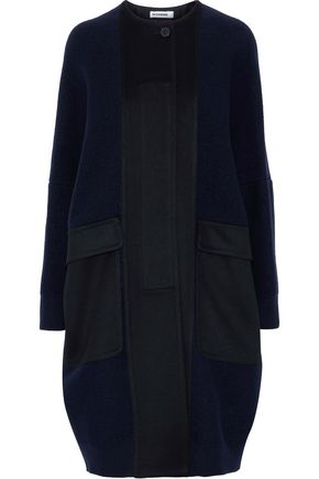 JIL SANDER Oversized wool and cashmere-blend coat