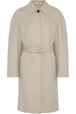 JIL SANDER Davenport wool and cashmere-blend trench coat