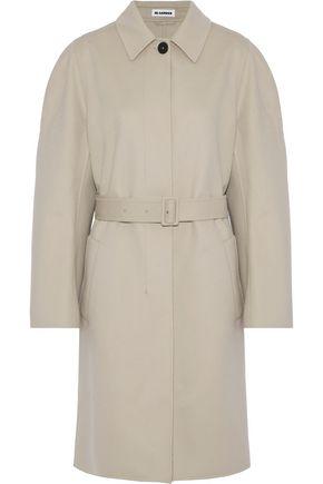 JIL SANDER Davenport wool and cashmere-blend trench coat