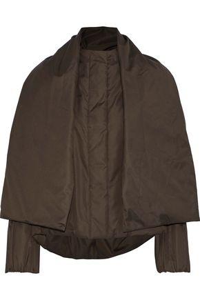 JIL SANDER Layered shell down jacket