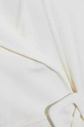 OSCAR DE LA RENTA Wool and cashmere-blend trench coat