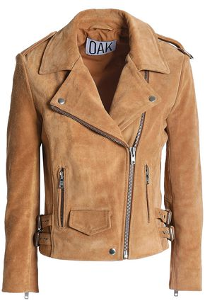 OAK Suede biker jacket