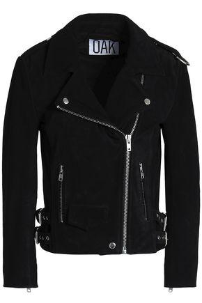 OAK Rider suede biker jacket