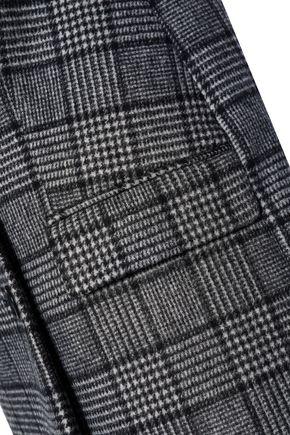 HOUSE OF DAGMAR Double-breasted wool-blend felt coat