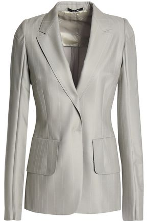 MAISON MARGIELA Striped wool blazer