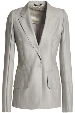 MAISON MARGIELA Striped wool blazer