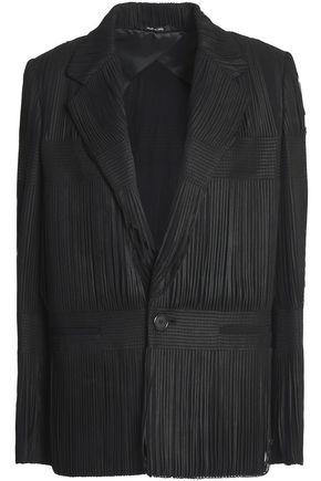 MAISON MARGIELA Fringed twill blazer