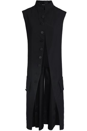 MAISON MARGIELA Pleated wool and mohair-blend vest