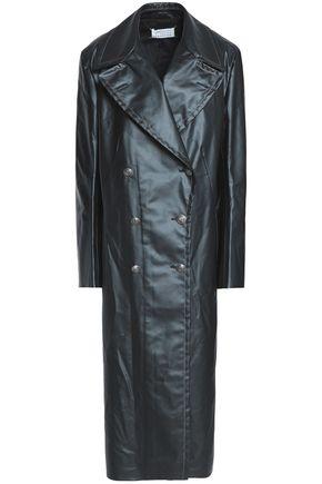 MAISON MARGIELA Double-breasted coated-shell coat