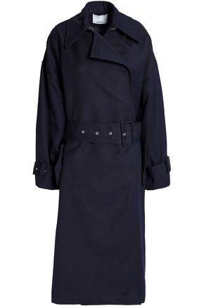 3.1 PHILLIP LIM Oversized wool-twill trench coat