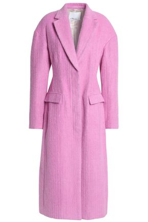 3.1 Phillip Lim Coats WOMAN FELT COAT PINK