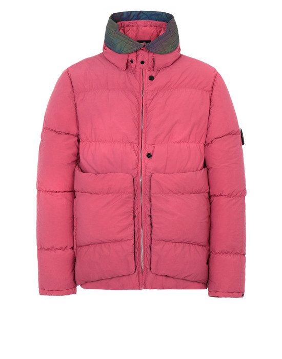 STONE ISLAND SHADOW PROJECT Giubbotto 40502 ENCASE PANEL DOWN JACKET (NASLAN LIGHT) MATERIALE A STRATO SINGOLO - TINTO IN CAPO CON AGENTE ANTIGOCCIA