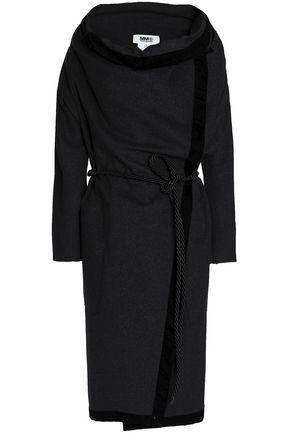 MM6 MAISON MARGIELA Belted wool-blend felt coat