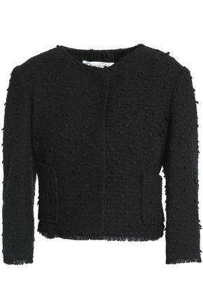 OSCAR DE LA RENTA Cotton-blend bouclé-tweed jacket