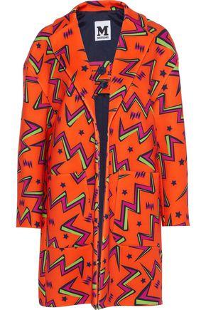 M MISSONI Printed neoprene coat