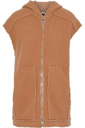 M MISSONI Bouclé-knit hooded vest