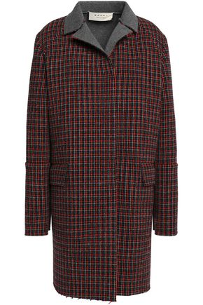 MARNI Wool-blend tweed coat