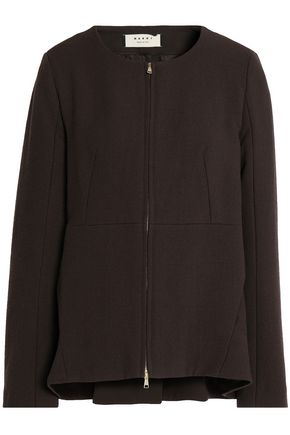 MARNI Wool and cotton-blend jacket