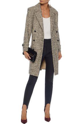 HALSTON HERITAGE Double-breasted tweed coat