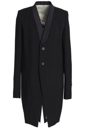 RICK OWENS Wool-crepe blazer