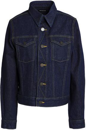 CALVIN KLEIN JEANS Appliquéd denim jacket