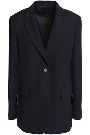 CALVIN KLEIN 205W39NYC Wool and silk-blend blazer