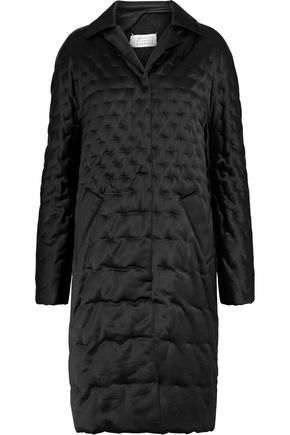 MAISON MARGIELA Quilted shell coat