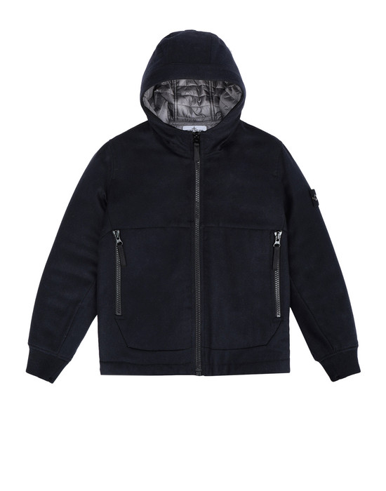 STONE ISLAND JUNIOR Mid-length jacket 40737