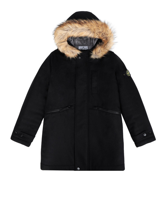 STONE ISLAND JUNIOR Mid-length jacket 40837