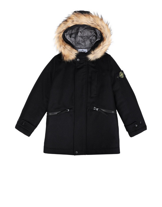 Mid-length jacket 40837 STONE ISLAND JUNIOR - 0