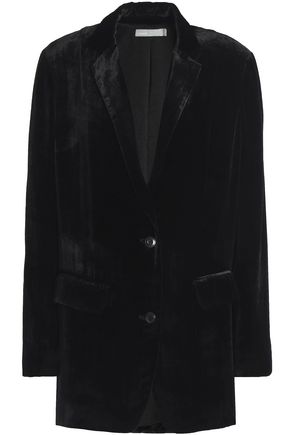 VINCE. Velvet blazer
