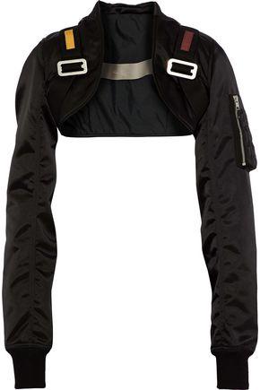 RICK OWENS Mordjane cropped shell jacket