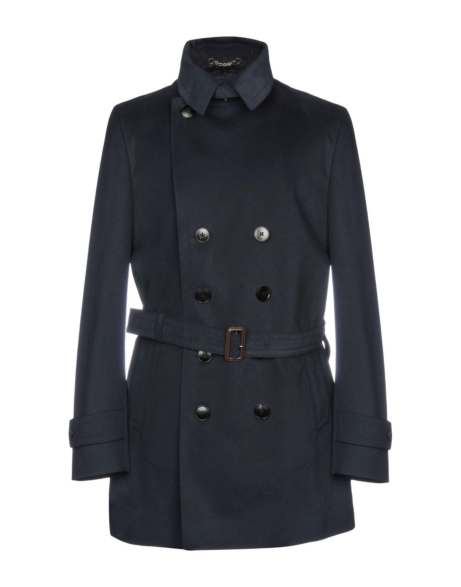 GUCCI Легкое пальто gucci кожаные ремень с монограммами
