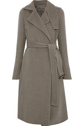 RICK OWENS Felt cashmere coat