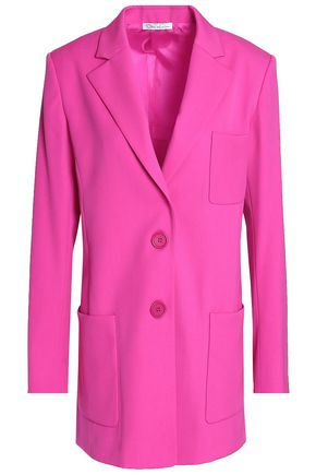 OSCAR DE LA RENTA Wool-blend blazer