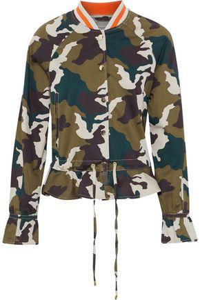 BAUM UND PFERDGARTEN Brenda printed cotton-blend jacket