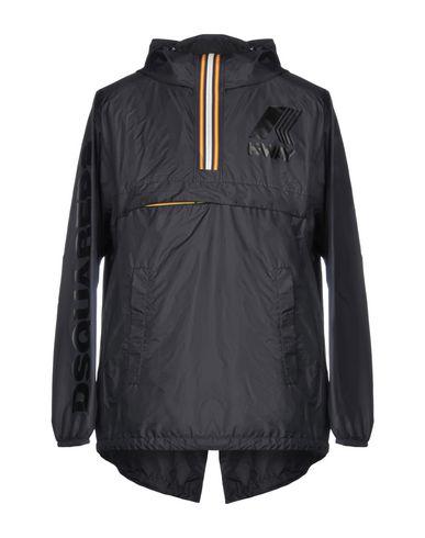 Фото - Мужскую куртку DSQUARED2 x K-WAY черного цвета
