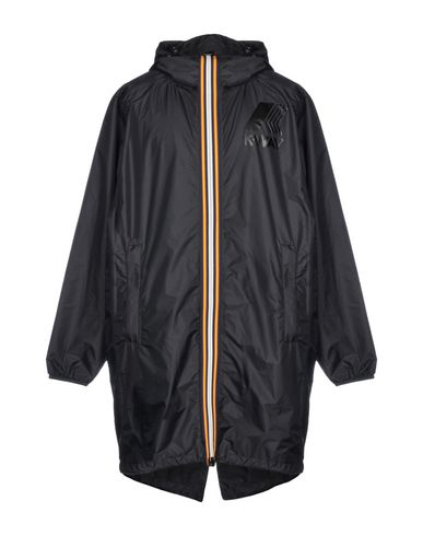 Фото - Легкое пальто от DSQUARED2 x K-WAY черного цвета