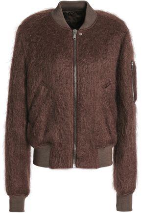 RICK OWENS Mohair-blend bomber jacket