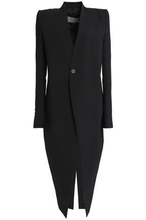 RICK OWENS Stretch-wool crepe jacket